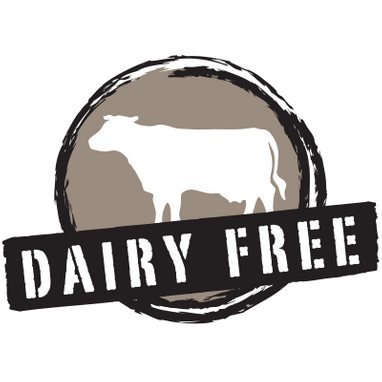 Dairy Free All of our products are 100% dairy-free