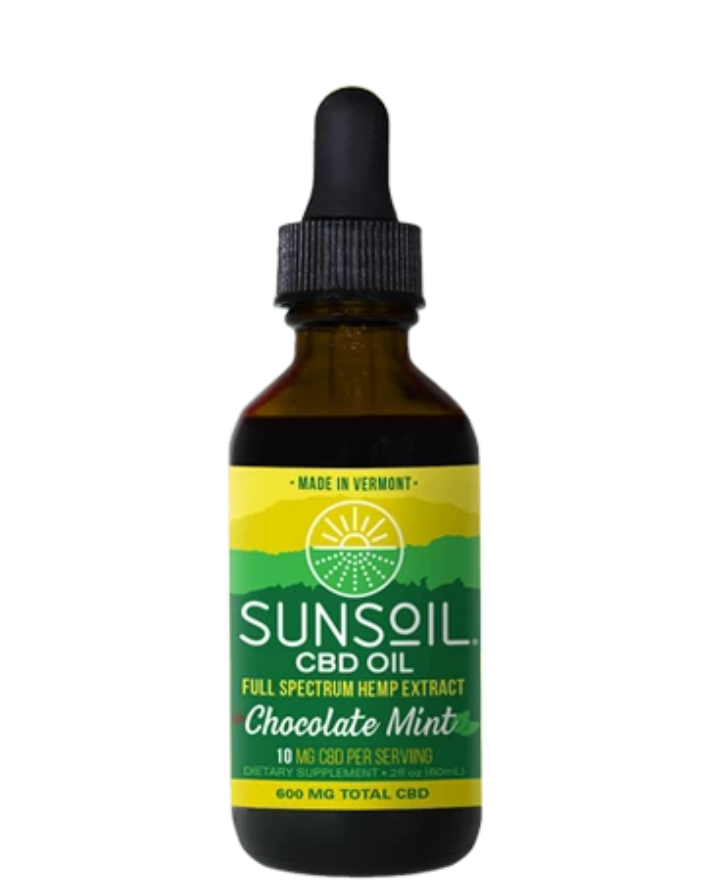 CBD OIL - CHOCOLATE MINT - 600 MG
