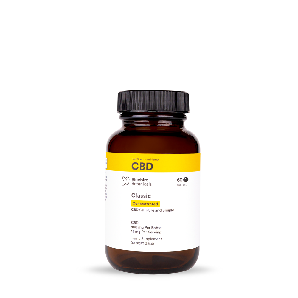 Concentrated CBD Capsules