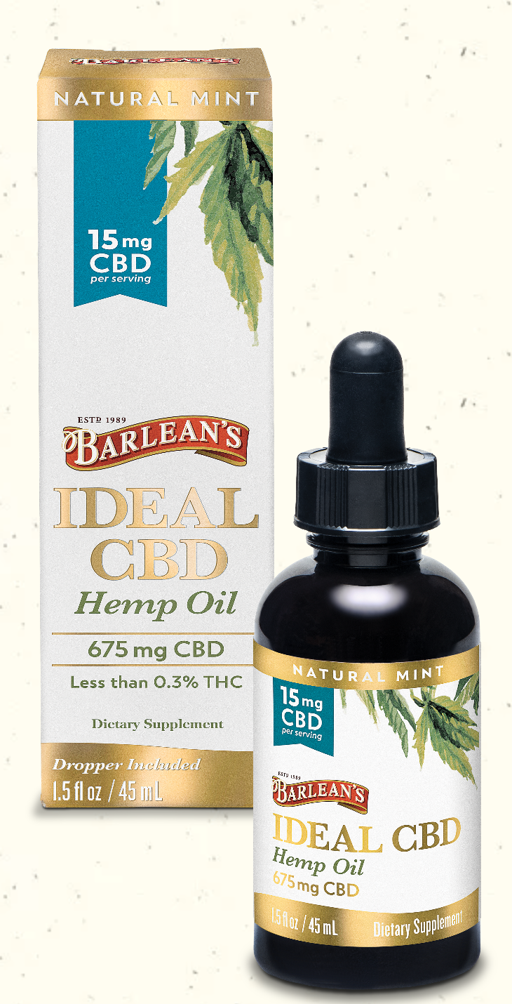 Ideal CBD Hemp Oil 15mg