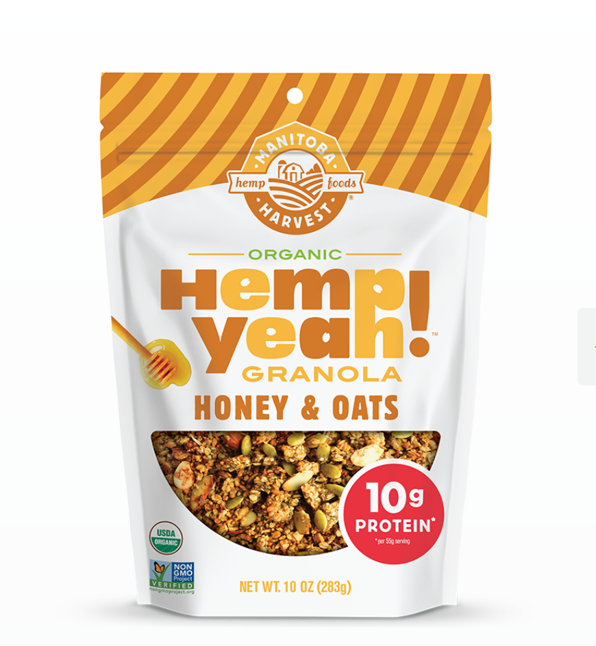 Hemp Yeah! Granola Honey & Oats