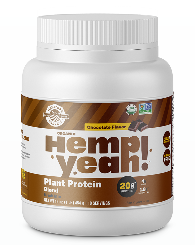 Hemp Yeah! Plant Protein Blend Chocolate