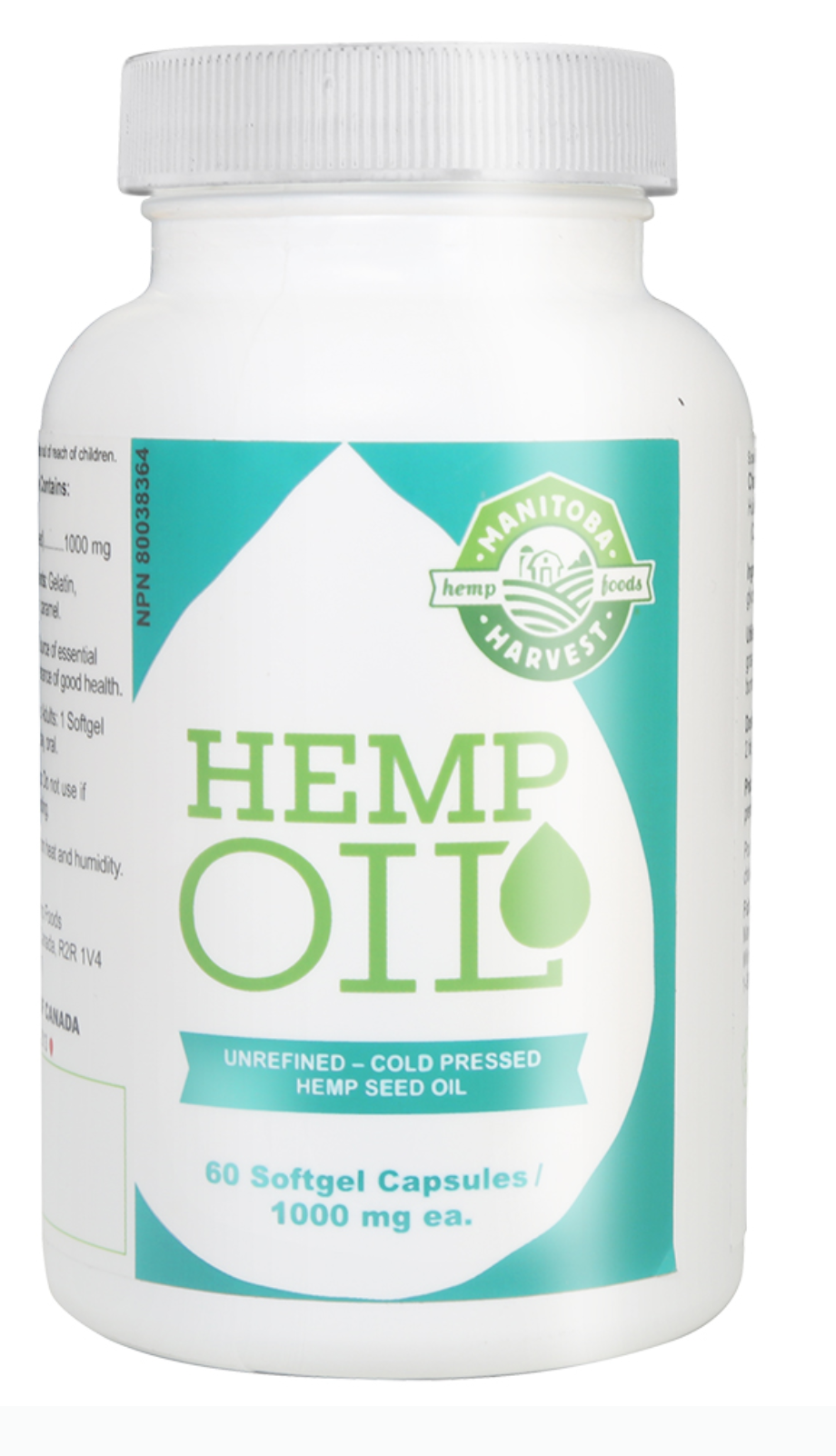 Hemp Oil Soft Gels