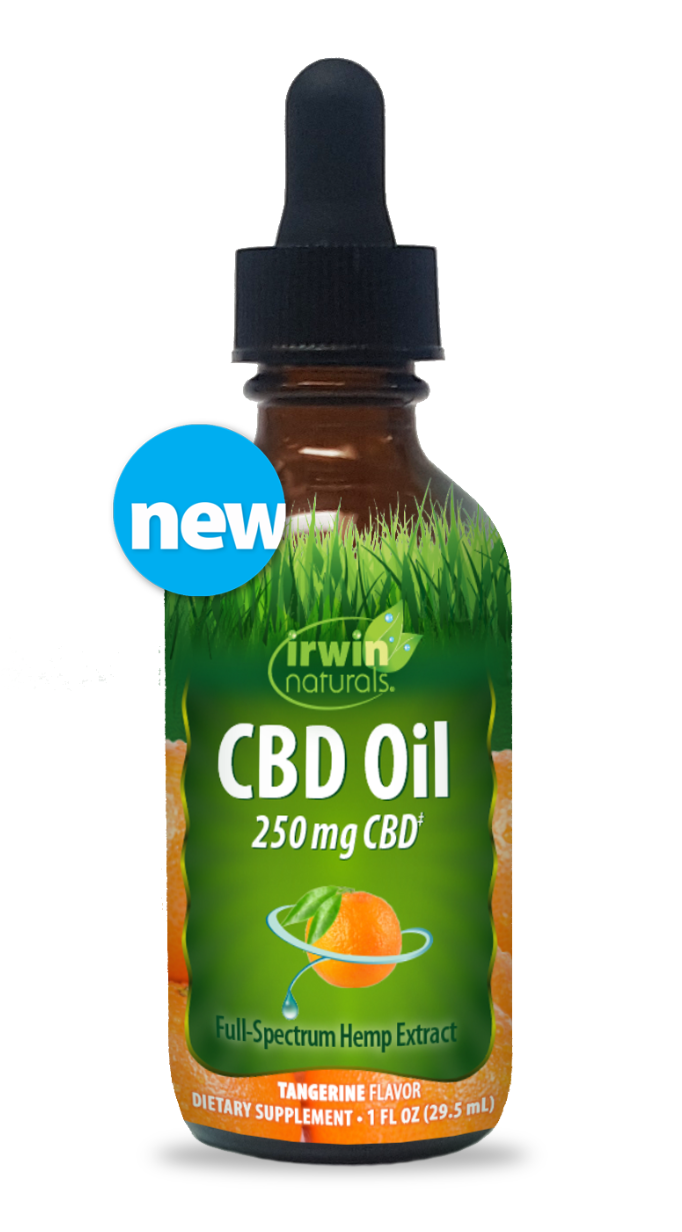 CBD Oil – Tangerine (250mg CBD)