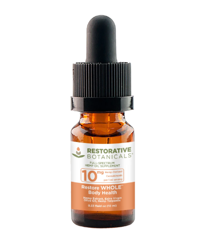 Restore WHOLE Body Health™ Hemp Oil Extract