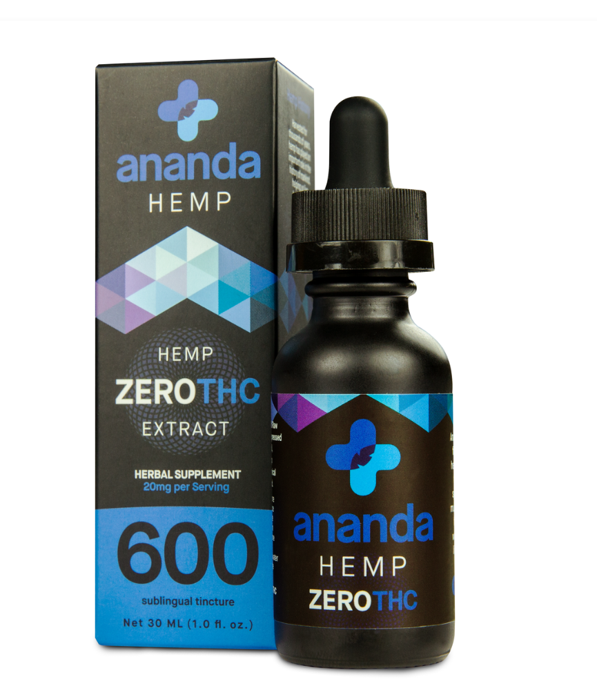 Broad Spectrum ZERO THC CBD Oil