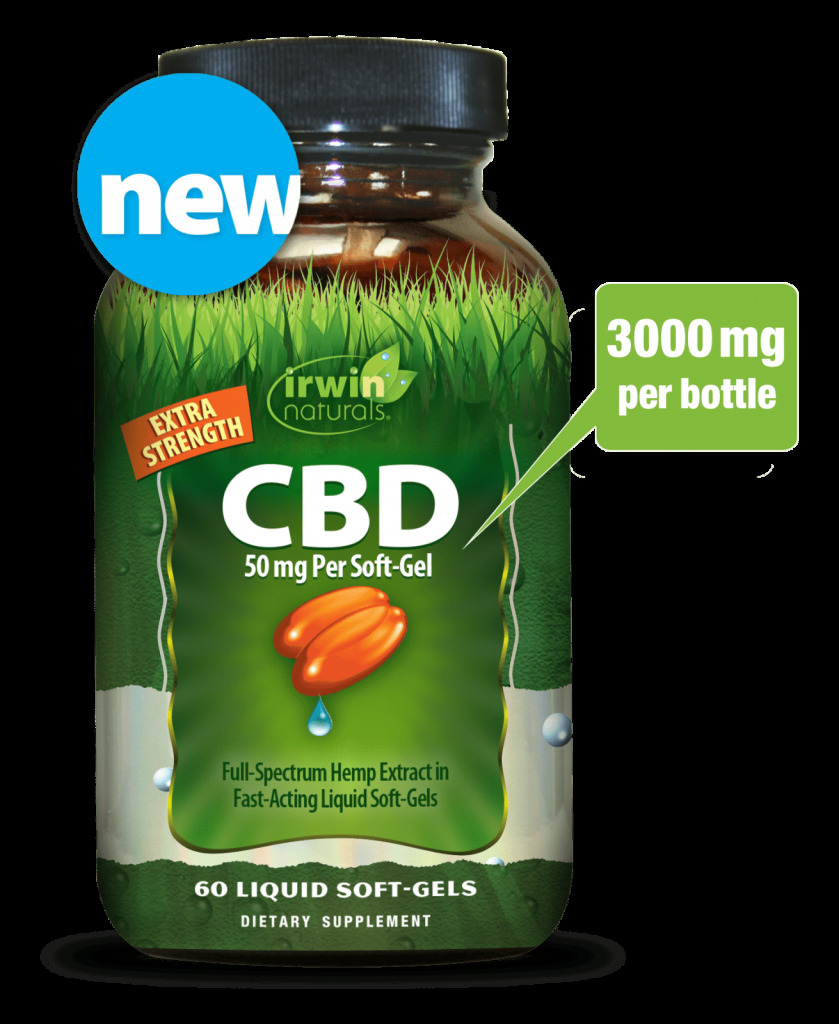 CBD 50 mg (3000 mg per bottle)