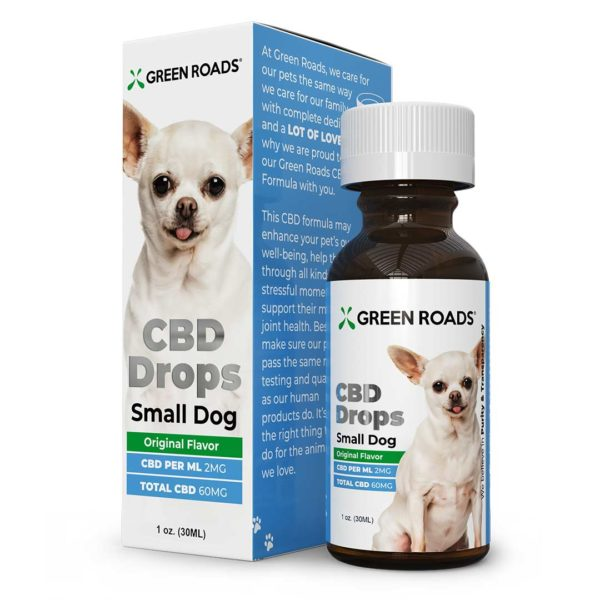 CBD Drops for Small Dogs
