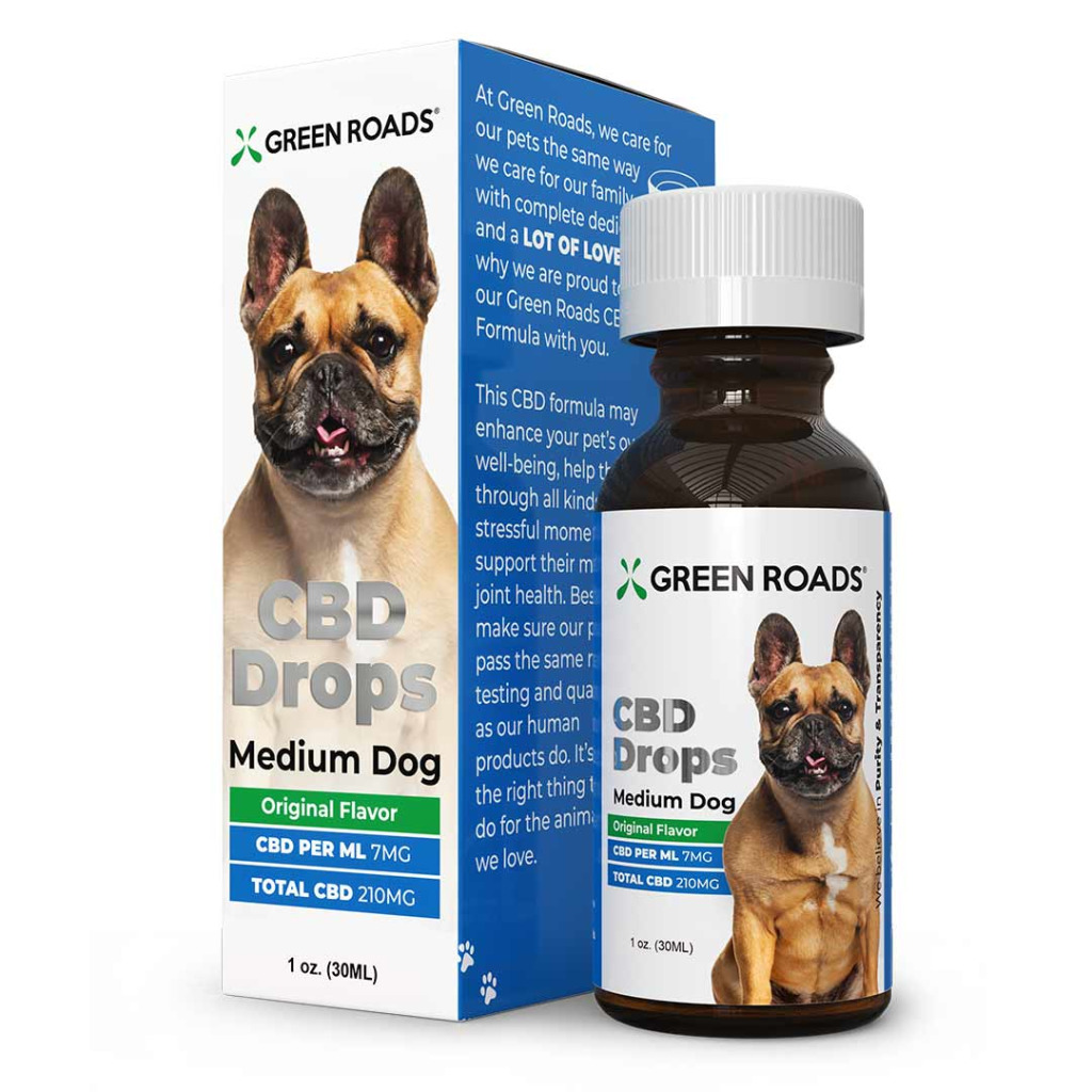 CBD Drops for Medium Dogs