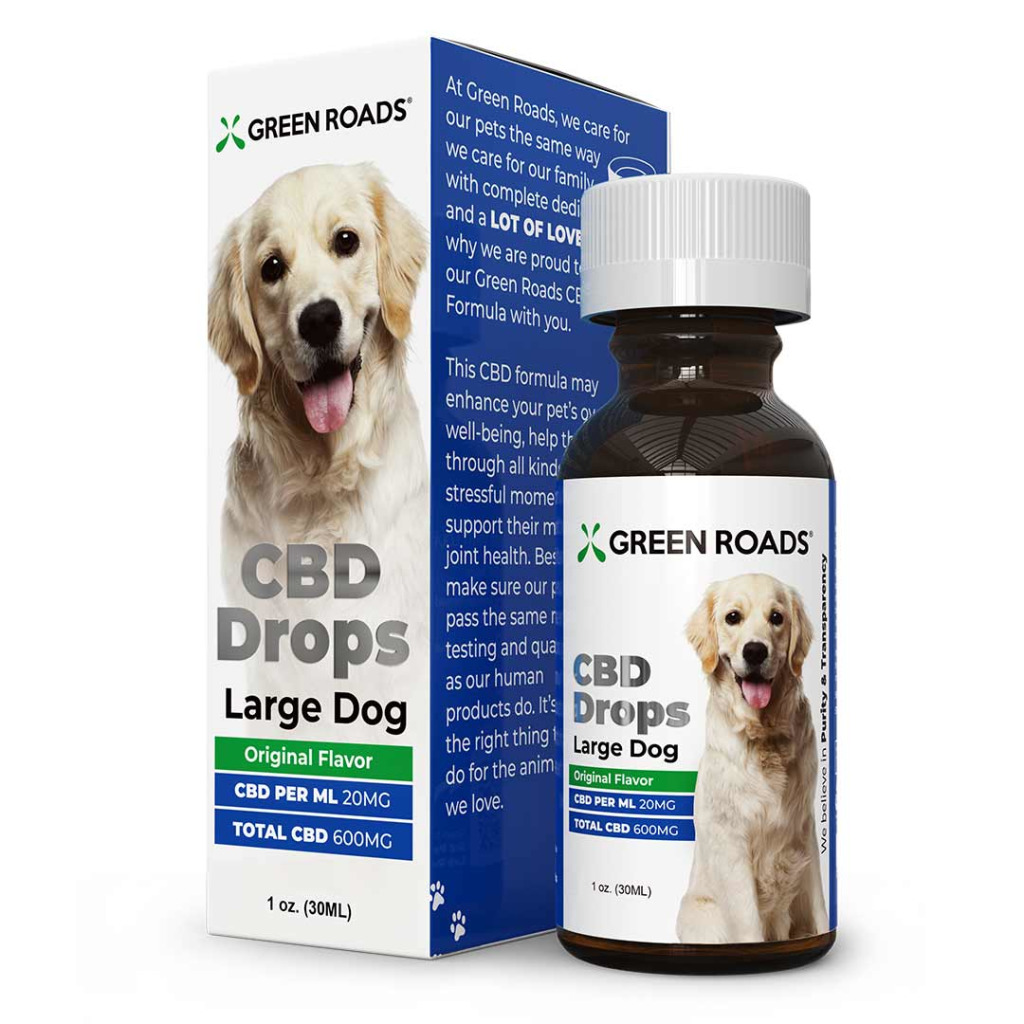 CBD Drops for Large Dogs