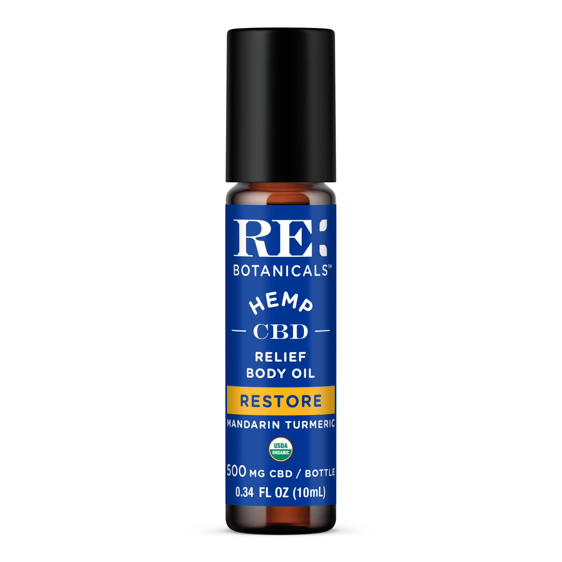 RE Botanicals: Mandarin Turmeric - Restore Relief Body Oil (500mg)