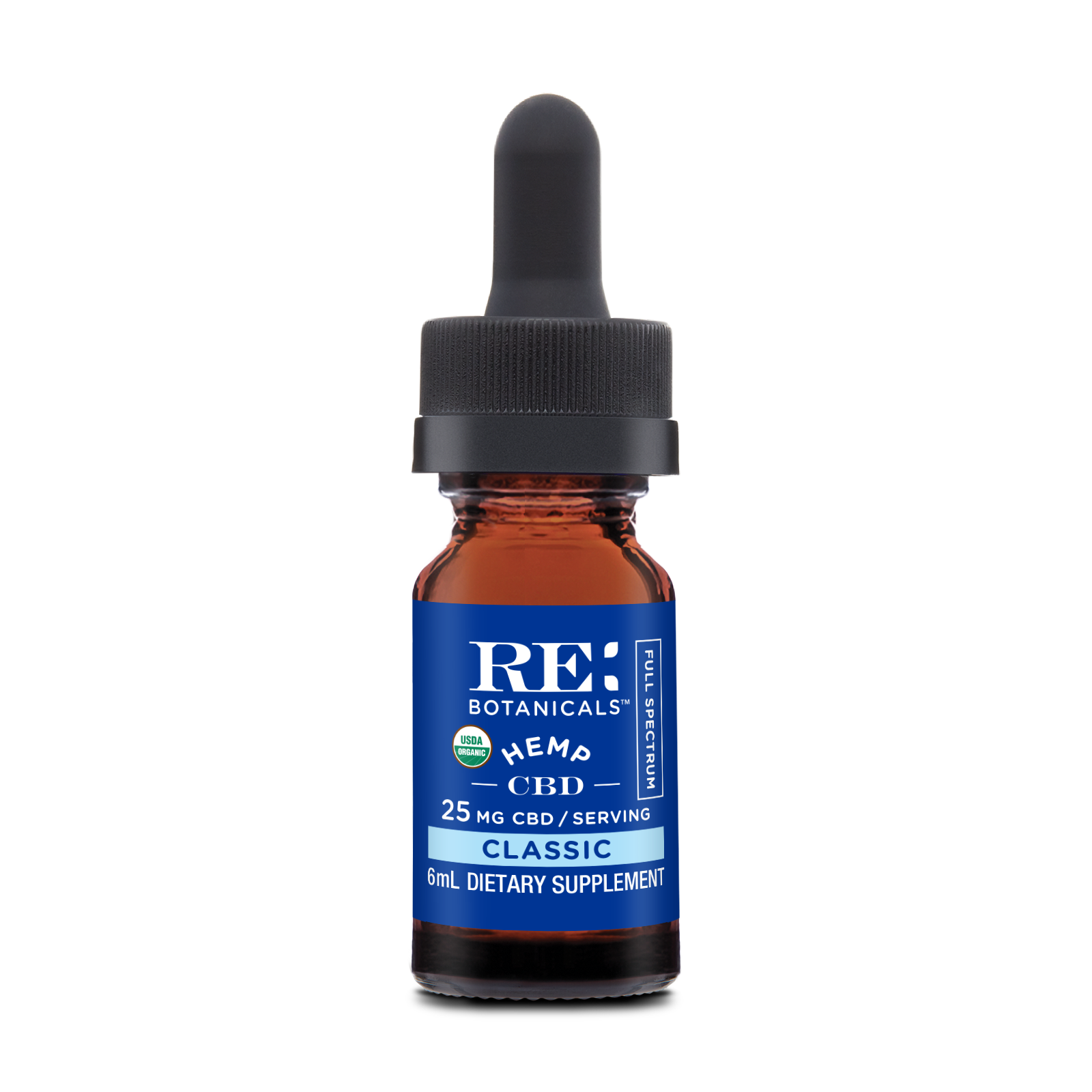 RE Botanicals: Hemp 25 Classic - Trial Size (6mL)