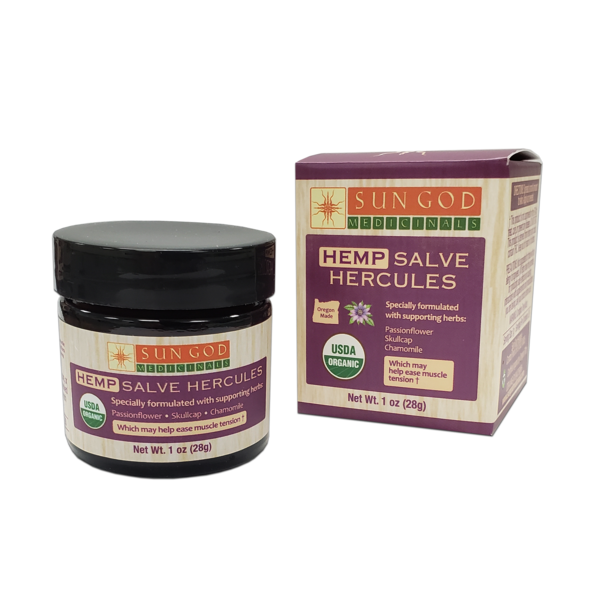 Hemp Hercules Muscle Salve 1 oz