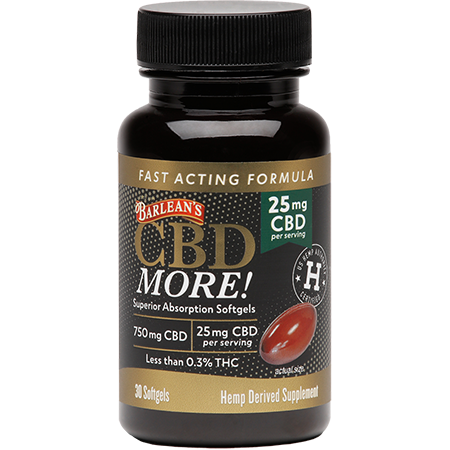 CBD More! 25mg 30 ct Softgels