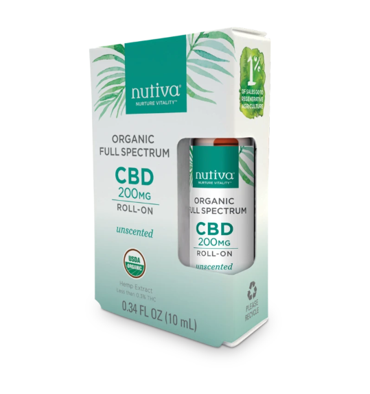 Organic Full Spectrum CBD Roll-On