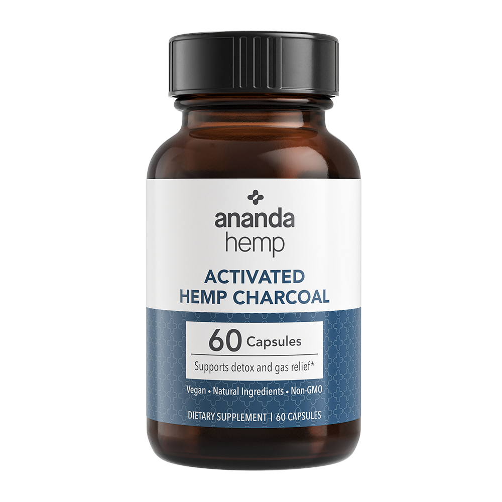 Activated Hemp Charcoal Capsules (60 count)