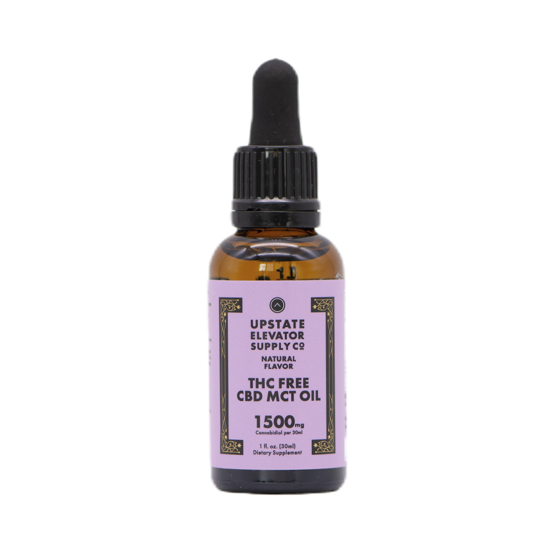 THC Free CBD MCT Oil, 1500mg