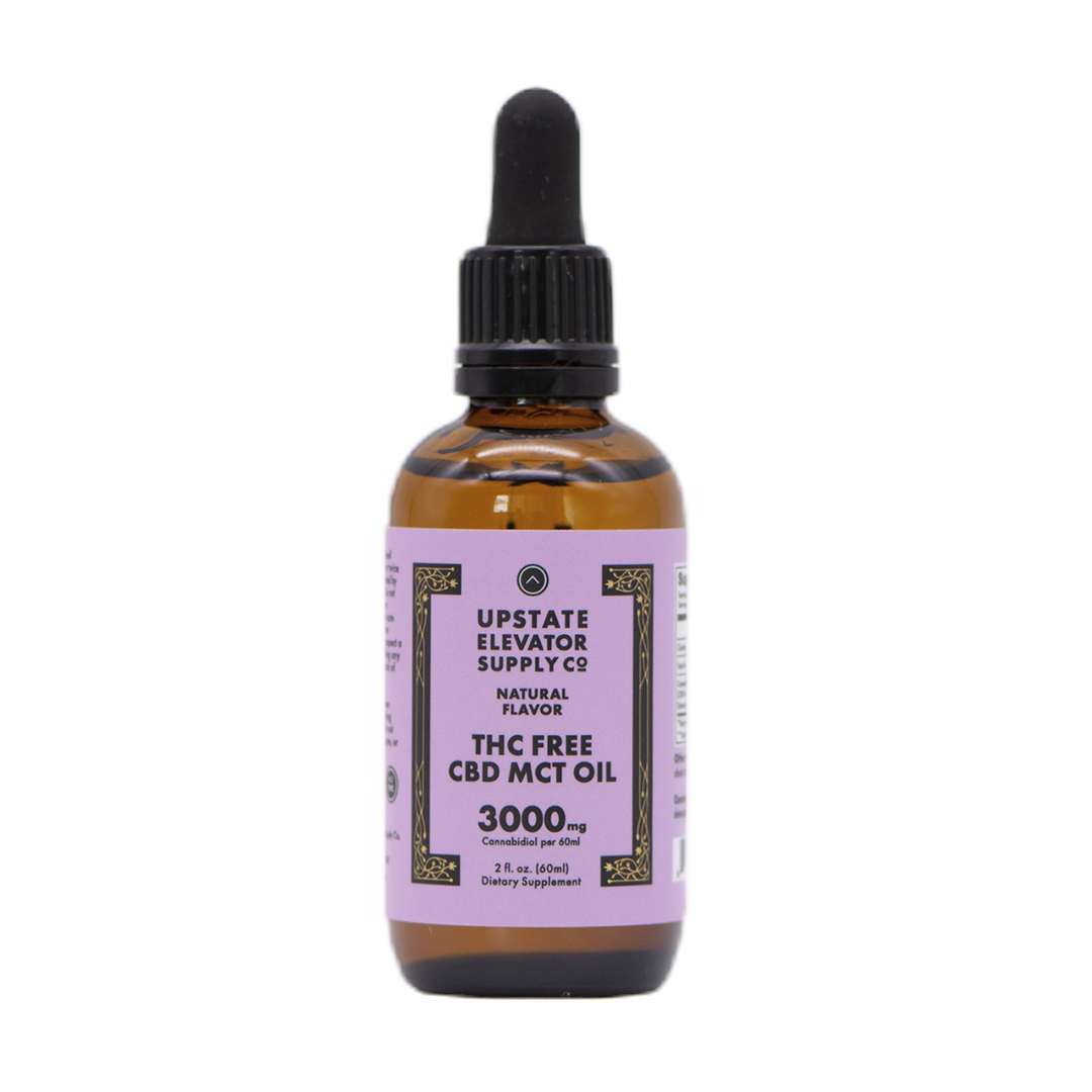 THC Free CBD MCT Oil, 3000mg